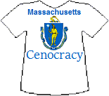 Massachussets' Cenocracy T-shirt (10K)