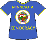 Minnesota Cenocracy T-shirt