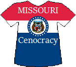 Missouri's Cenocracy T-shirt (11K)
