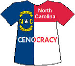 North Carolina's Cenocracy T-shirt (10K)