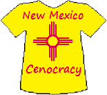 New Mexico's Cenocracy T-shirt (11K)