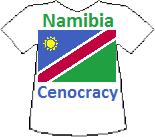 Namibia's Cenocracy T-shirt (9K)