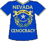Nevada's Cenocracy T-shirt