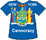 New York Cenocracy T-shirt
