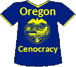 Oregon's Cenocracy T-shirt (11K)