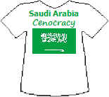 Saudi Arabia's Cenocracy T-shirt (9K)