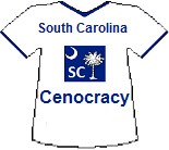 South Carolina Cenocracy T-shirt