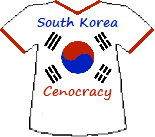 South Korea's Cenocracy T-shirt (9K)