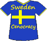 Sweden's Cenocracy T-shirt