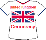UK's Cenocracy T-shirt (9K)