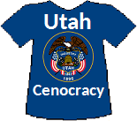 Utah's Cenocracy T-shirt (11K)