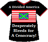 America's Cenocracy T-shirt (11K)