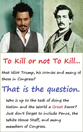 The Actors Johnny Depp and John Wilkes Booth