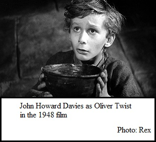 John Howard Davies as Oliver Twist (33K)