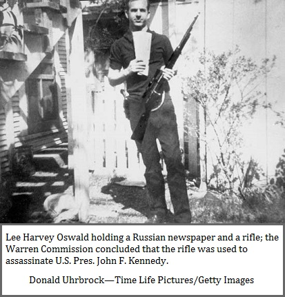 The staged Evidence of Oswald