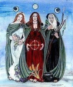 Virgin, Mother, Crone and assorted symbolization