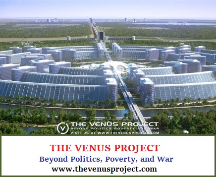 The Venus Project concept city (76K)