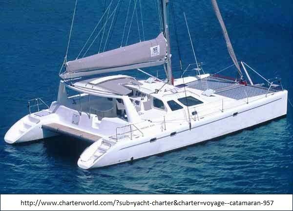 Trimaran voyage (71K)