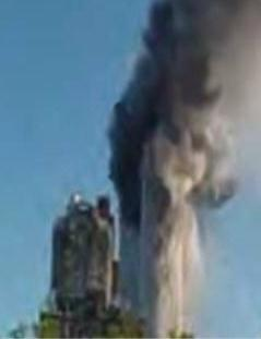 Twin Towers devil image