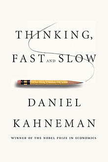 Cover of Daniel Kahneman's Thinking, fast and slow book (10K)