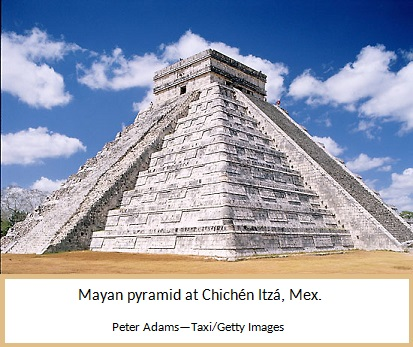 Mayan Stepped Pyramid