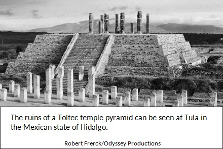 Toltec Stepped Pyramid