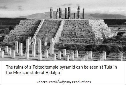 Toltec Stepped Pyramid
