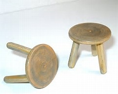 Two and three-legged stools