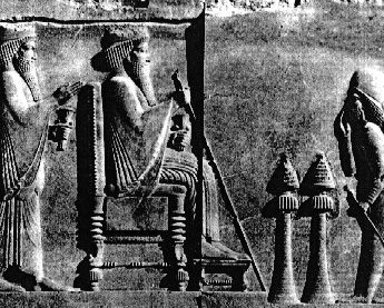 Chair of Darius, King of Persia