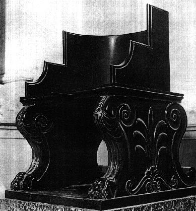 Roman throne