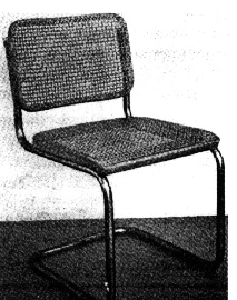 Breuer Elastic Cantilever chair of 1929