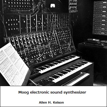 Early Moog synthesizer