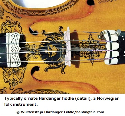 Norwegian folk fiddle
