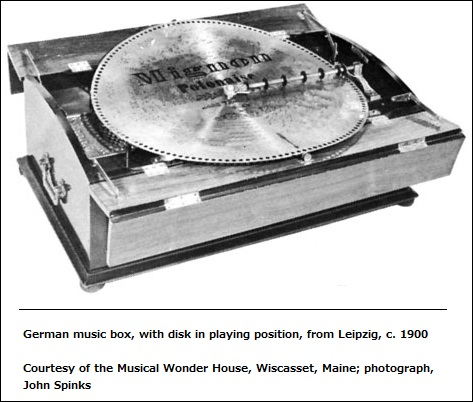 Early German music box
