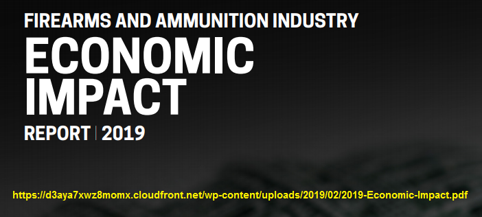 Economic impact of arms and ammunition