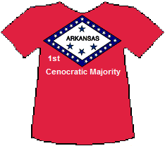 Arkansas 1st Cenocratic Majority (7K)