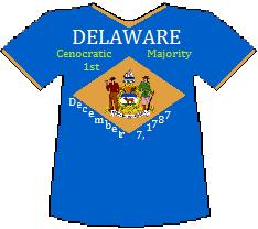 Delaware 1st Cenocratic Majority (8K)