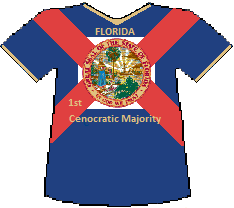 Florida 1st Cenocratic Majority (10K)