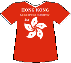 Hong Kong 1st Cenocratic Majority (8K)
