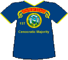 Idaho 1st Cenocratic Majority (8K)