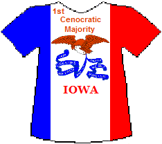 Iowa 1st Cenocratic Majority (7K)