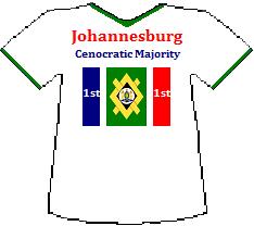 Johannesburg 1st Cenocratic Majority (7K)