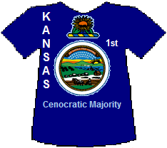 Kansas 1st Cenocratic Majority (21K)