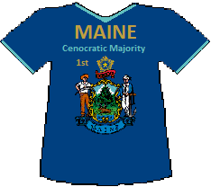Maine 1st Cenocratic Majority (9K)