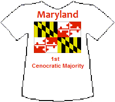 Maryland 1st Cenocratic Majority (6K)