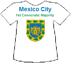 Mexico City 1st Cenocratic Majority (11K)