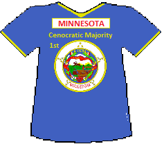 Minnesota 1st Cenocratic Majority (9K)
