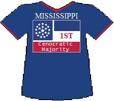 Mississippi 1st Cenocratic Majority (6K)