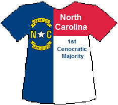 North Carolina 1st Cenocratic Majority (6K)