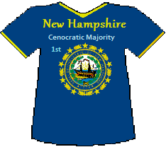 New Hampshire 1st Cenocratic Majority (10K)